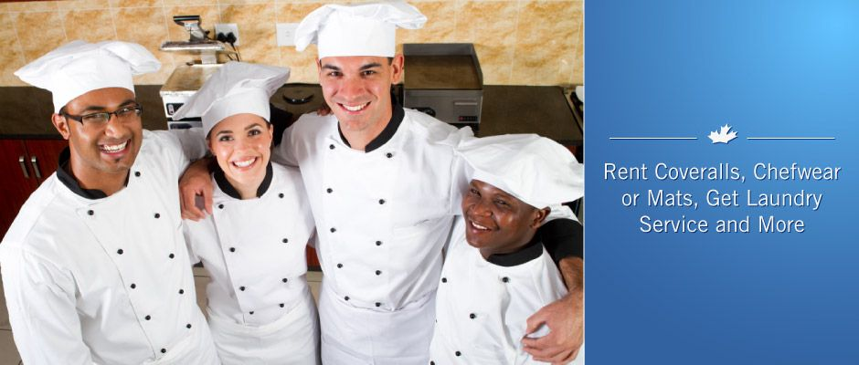 Rent coveralls, chefwear or mats, get laundry service and more | chefwear